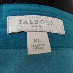 Talbots Tops - Talbots Patterned Top Sz XL E72